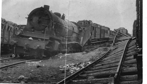WWI Bomb Raid Willie Wilson 1919