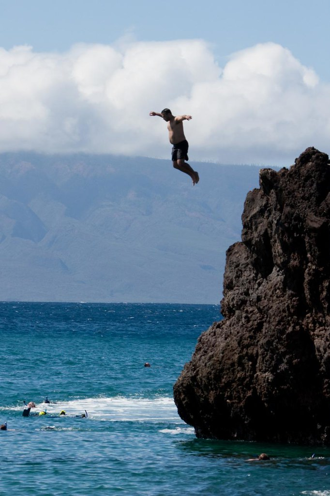Black Rock Cliff Jumping : black, cliff, jumping, Jeremiah, Cliff, Jumping, Black, Wailea, Terence, Flickr