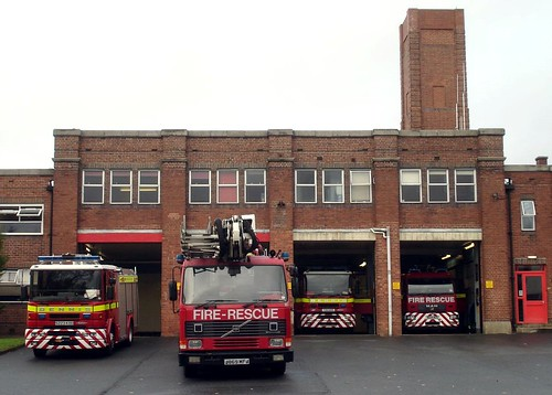 Exeter Fire Station, Howell Road