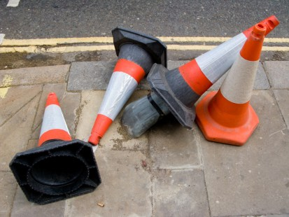 a collapse of cones