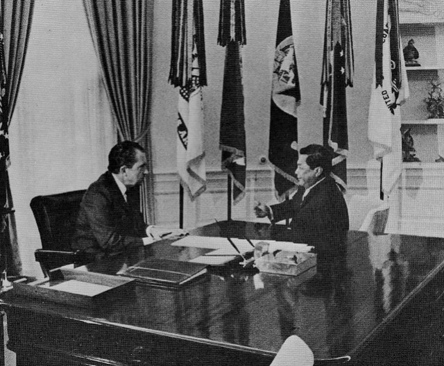 President Nixon and Governor Camacho, 1970