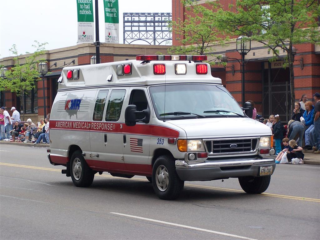 american medical response ambulance