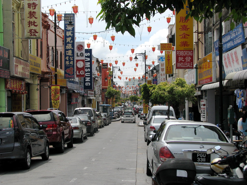 Malaysia - 075 - Penang - Chinatown street in Georgetown   Flickr