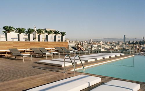 piscina Hotel grand central barcelona  Xotels  Flickr