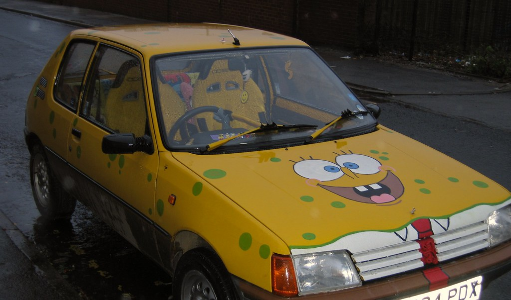 Spongebob Car  I know nothing about Spongebob Squarepants