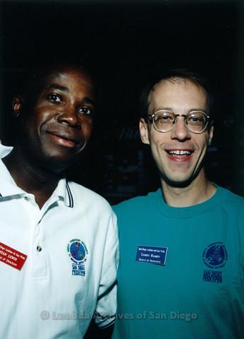 San Diego Pride Volunteer Appreciation Party at Aztec Bowl, San Diego State University, August 1998