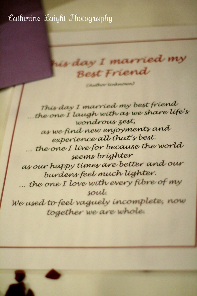 the day i married