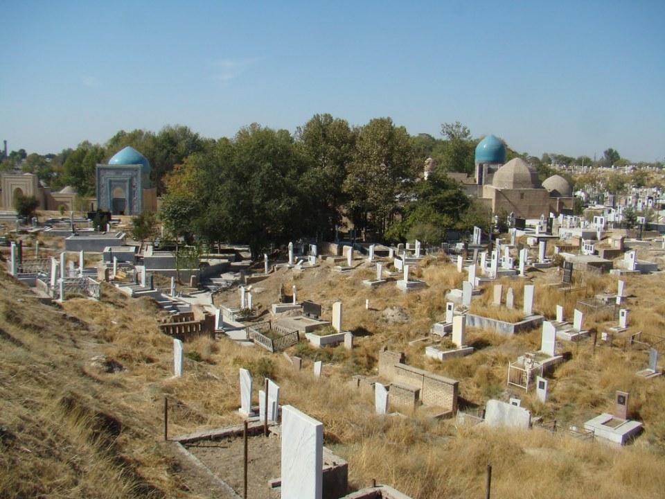Samarkanda Cementerio Uzbekistan 06