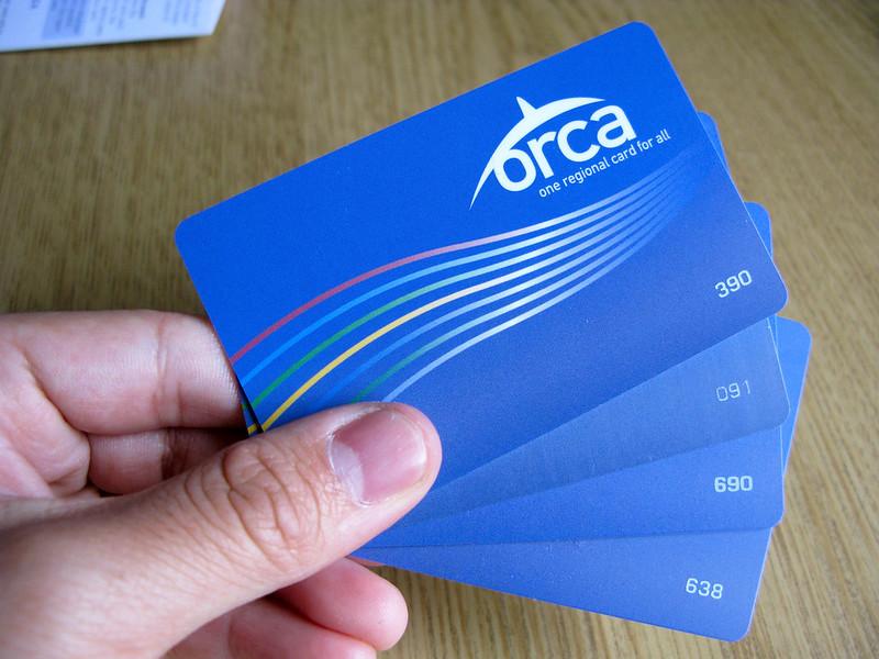 4 ORCA cards