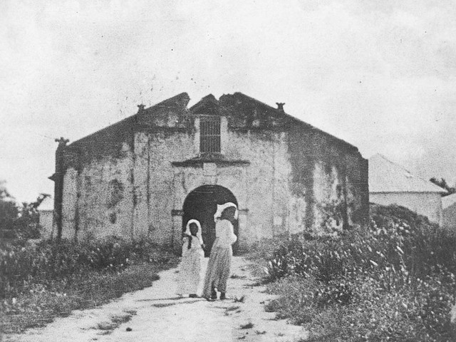 Young Ladies Walking to Church, 1902