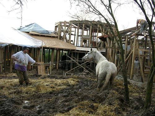 Casas de adobetecnica antisismicacomunidad Ecolgica S  Flickr