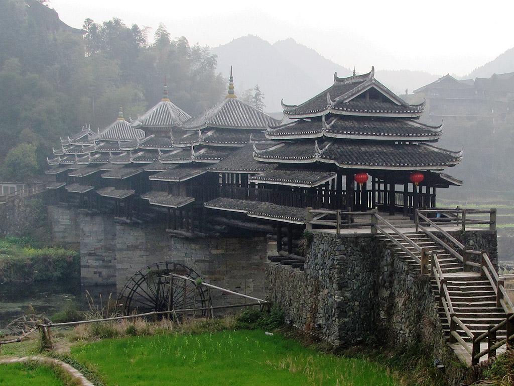Dong bridge Chengyang S0124