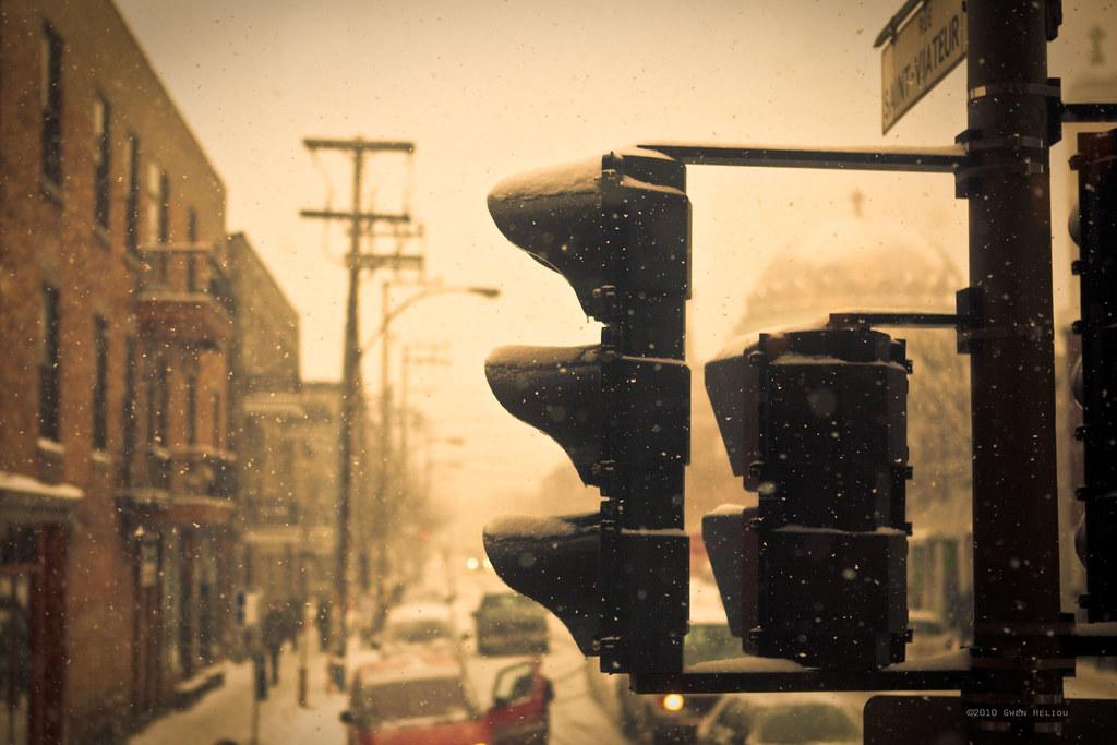 It's snowy today #3