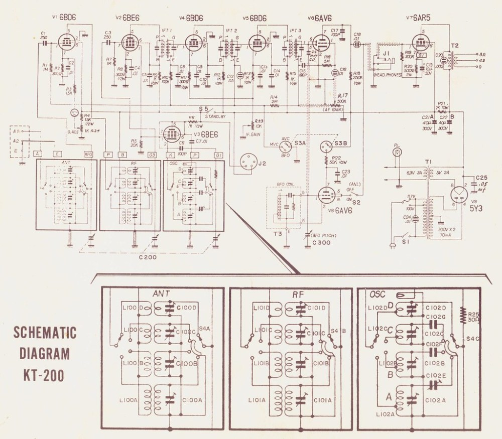 medium resolution of 1959 pre teen turbo nerd build your own 4 band shortwave radio from a kit