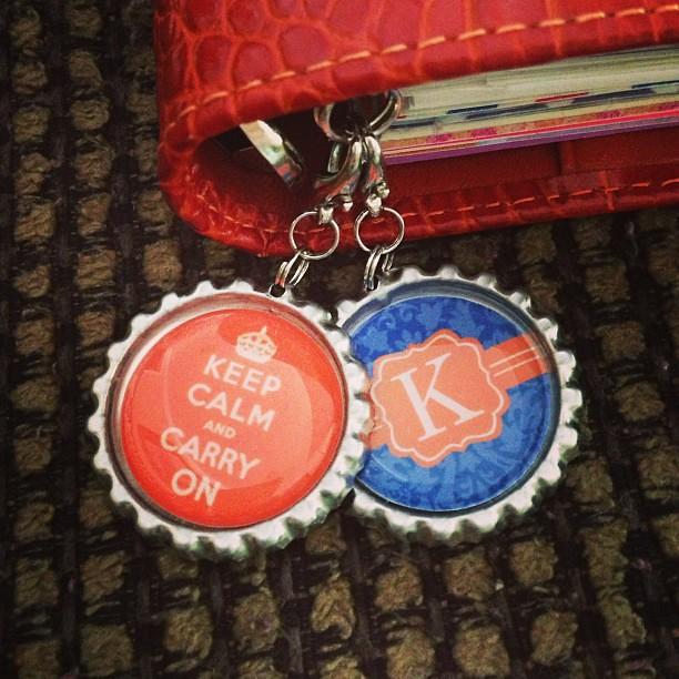 New #filofax charms!  I'm still wanting a beaded one though.