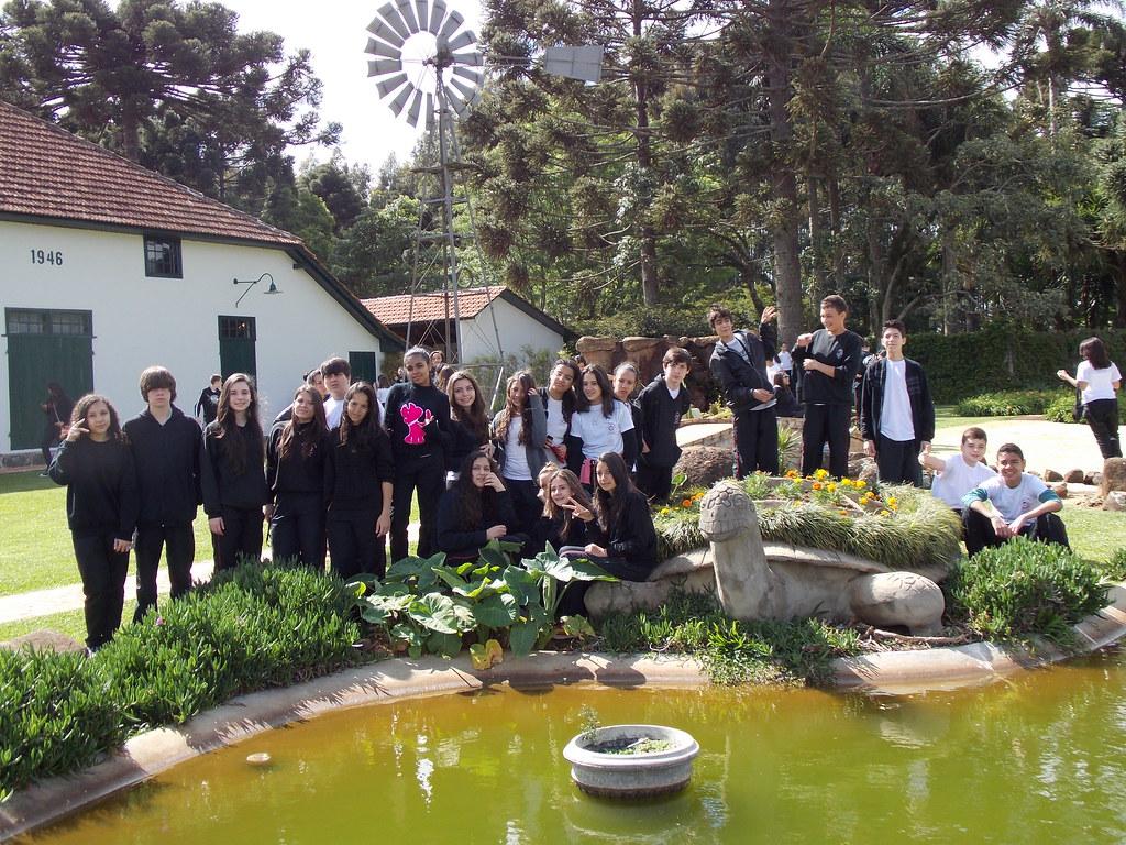 Visita dos alunos da Escola Medalha Milagrosa