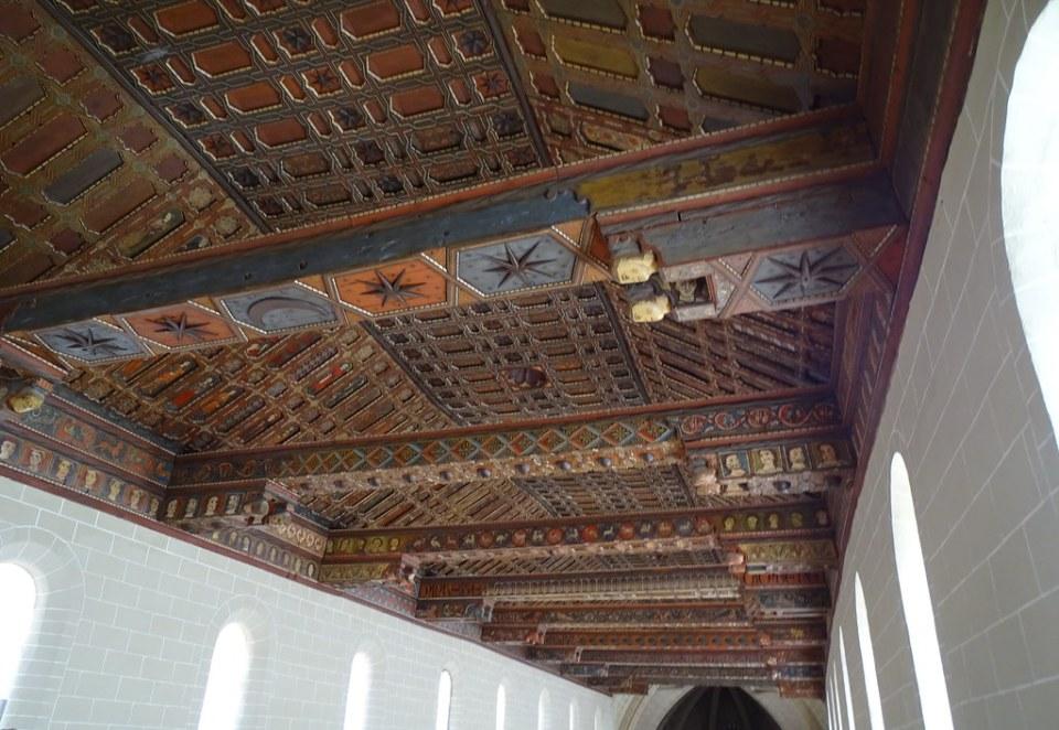 Teruel techo mudejar Catedral Santa Maria de Mediavilla 07