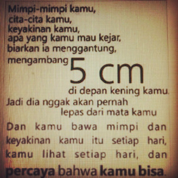5cm the movie indonesian