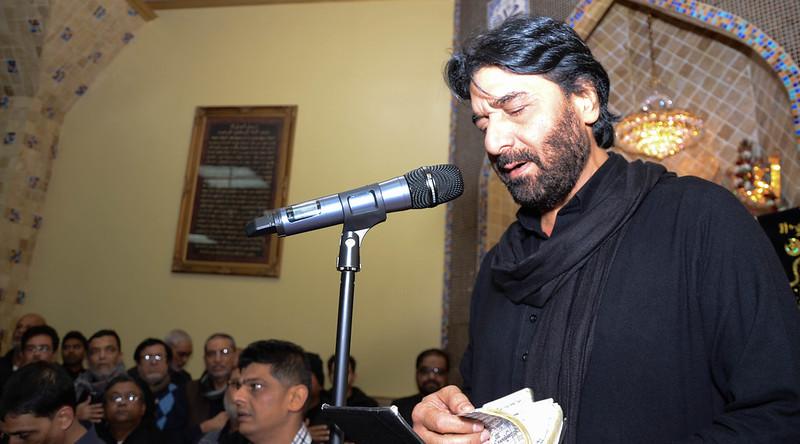 Nadeem Sarwar 2014 LIVE at Jaffari Center (Arbaeen)