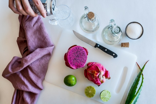 dragon fruit is native to Mexico, perfect for Cinco do Mayo