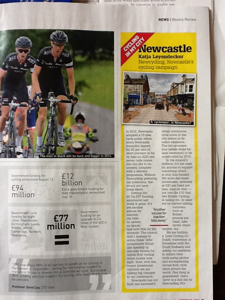 Cycling Weekly 22 August 2013