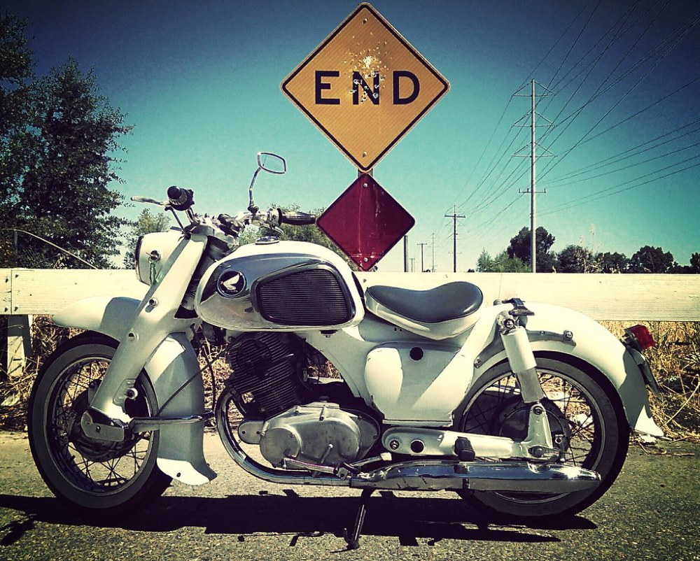 medium resolution of  1962 honda dream 305 by geoffp516