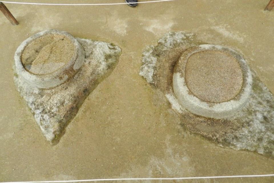 Peru morteros Machu Picchu Grupo de los Morteros o Acllahuasi 15