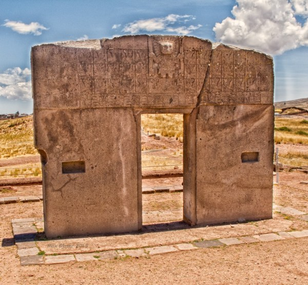 Puerta Del Sol Tiwanaku - Bolivia Max