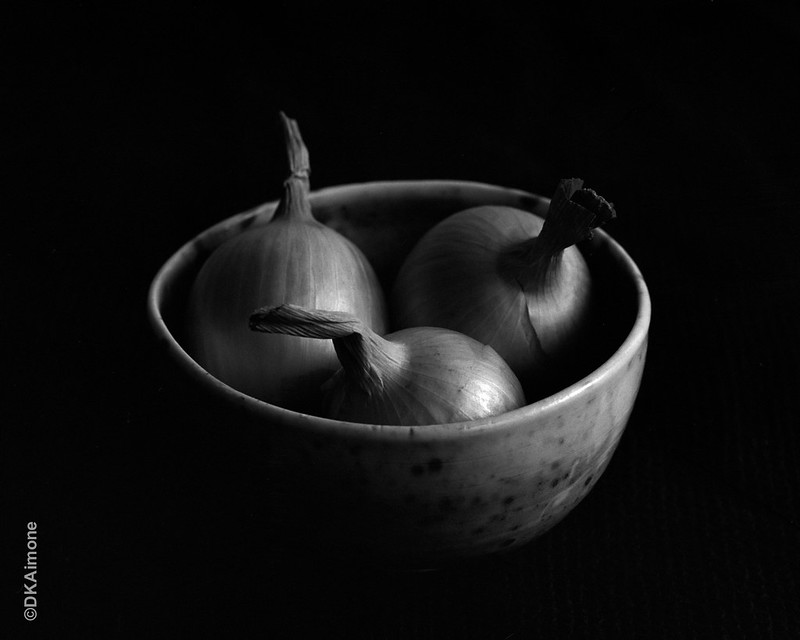 Bowl With Onions