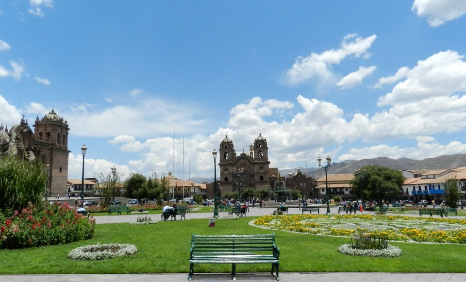 Cuzco Plaza de Armas Peru 23