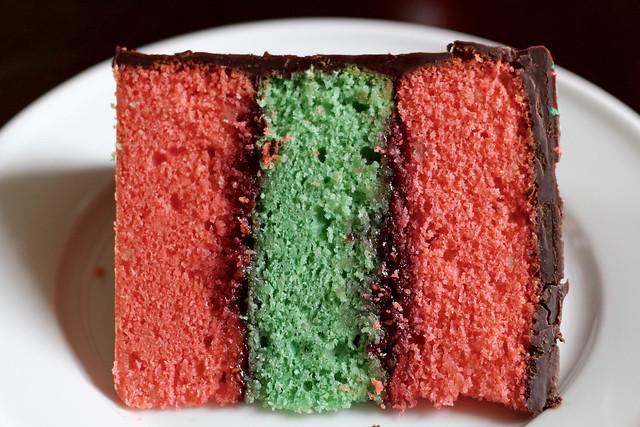 Tricolor Cake - 34