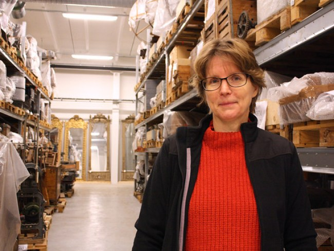 Anne Wastesson Jonsson har många hyllor att fylla.