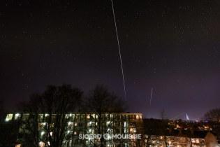 ISS boven Nederland