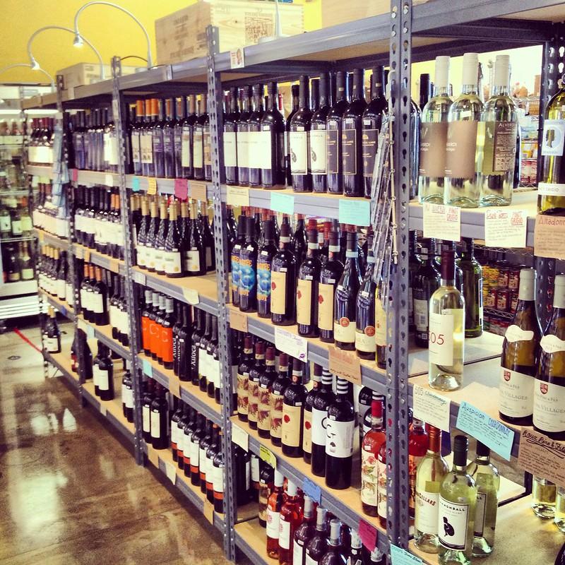 Duckweed wine selection