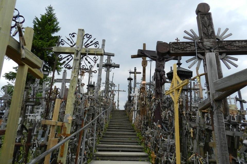 La Colina de las Cruces Lituania 10