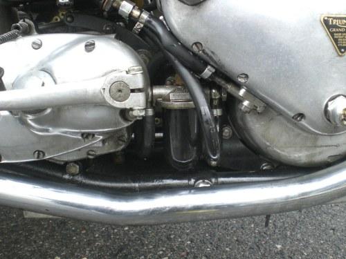 small resolution of  triumph grand prix replica 500cc ohv vokes e37 oil filter by michel 67