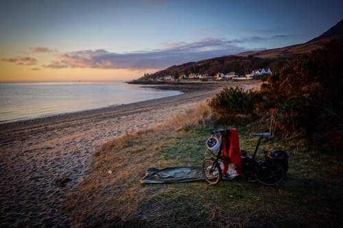 Wild-camp on Arran