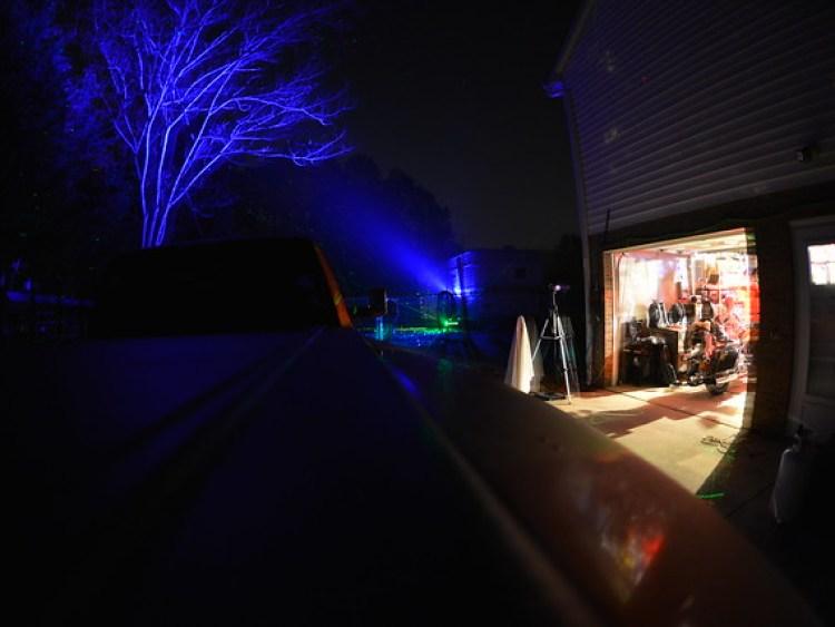 Halloween2017  Found the working Fog machine new laser! 20170420_4013 1994 Harley Davidson Heritage Softail Layla Ram 3500