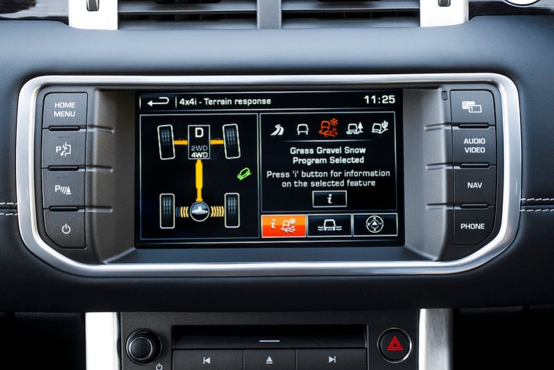Multi Award- Winning Range Rover Evoque Leads The Way With In-Car Technology