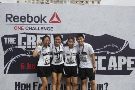 Reebok ONE Challenge 2014