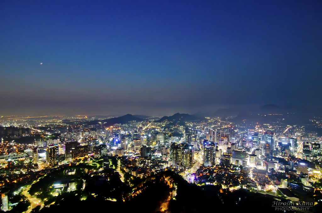 N Seoul Tower | view from the N Seoul Tower | hiroshi kano | Flickr