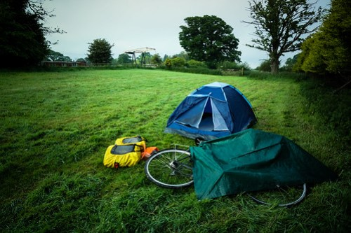 Wild camp outside Whitchurch