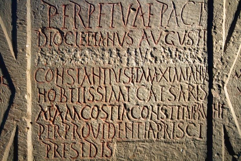 Damnatio memoriae | 23.12.2012: inscription recording the st… | Flickr