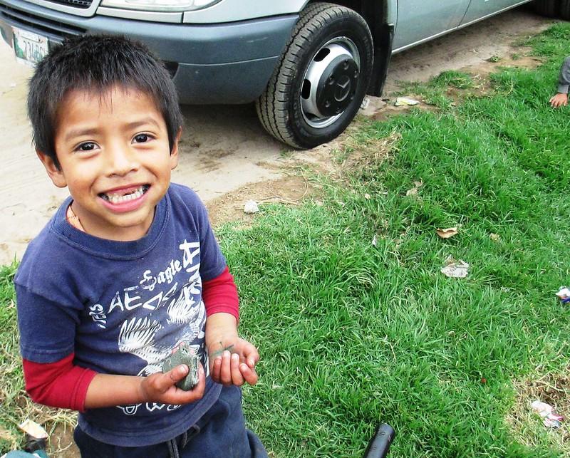 Smiles in Tecpan, Guatemala, May 2014