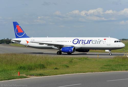 TC-OBJ A321 Onur Air   Liège Airport (LGG/EBLG). 25 May 2014…   Michel Mourmans   Flickr