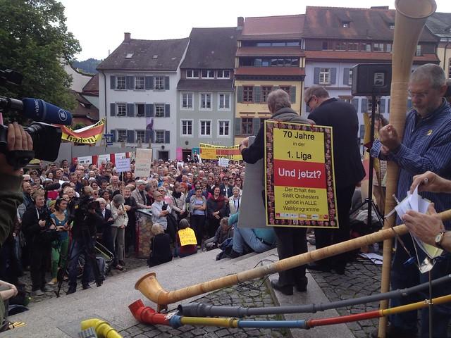 Bilder vom 24h Stunden Wahlkampf Stand