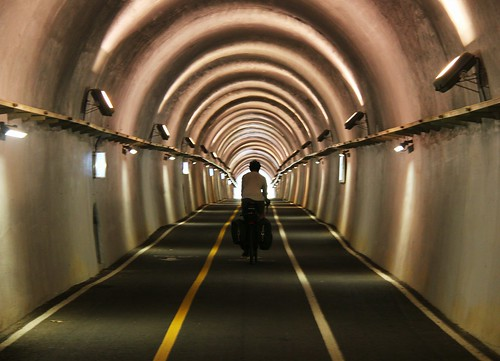 Cycling tunnel