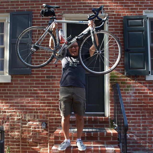 Biked to Philadelphia