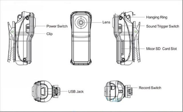 New Mini DV Spy Hidden Camera Digital Video Recorder Camco