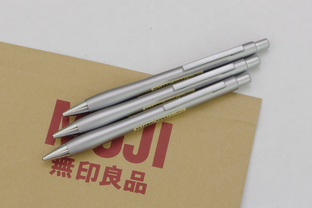 無印良品 (MUJI) 鋁質自動出芯自動筆 | Y.S. Lee | Flickr